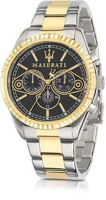 Maserati Competizione Two Tone Stainless Steel Men's Watch