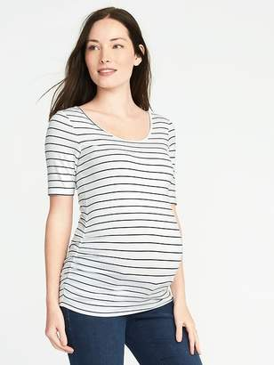 Old Navy Maternity Fitted Ballet-Neck Tee