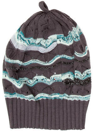 Missoni Missoni Open Knit Wool Hat