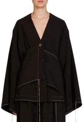 Loewe Draped Stitched Jacket