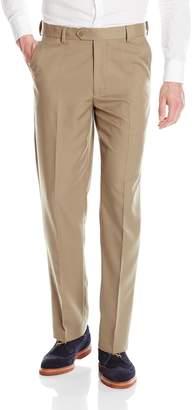 Geoffrey Beene Men's Flat Front Micro Fiber Dress Pant