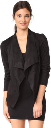 BB Dakota Wade Faux Suede Jacket $105 thestylecure.com