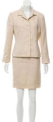 Akris Cashmere Skirt Suit