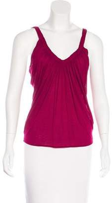 Gucci Angora-Blend Short Sleeve Top