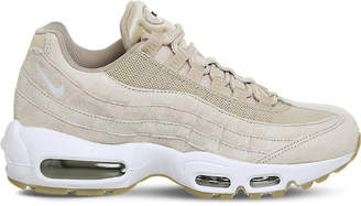 Nike 95 suede and mesh trainers
