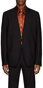 Maison Margiela Men's Virgin Wool Open-Front Sportcoat-Black