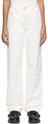 Martine Rose Napa By NAPA by White Tanis Jeans