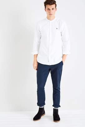 Jack Wills Heton Grandad Collar Plain Shirt