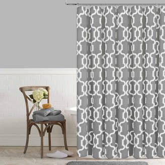 COLORDRIFT Colordrift Lorna Printed Shower Curtain