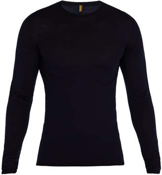 IFFLEY ROAD Dartmoor long-sleeved merino top