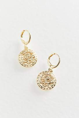 Urban Outfitters Sol Charm Hoop Earring