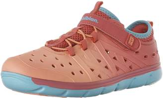Stride Rite Girl's M2P Phibian Shoes, Coral/Turq