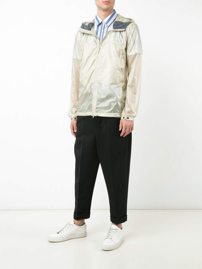 Canada Goose hooded windbreaker jacket