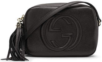 Gucci Soho Disco Crossbody Leather Strap Small Black