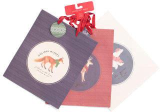 3pk Portland Animals Large Holiday Gift Bag Set