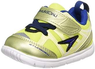 Syunsoku (瞬足) - [シュンソク] 運動靴 足育ベビーシューズ SJB 3190 YG イエローグリーン 13