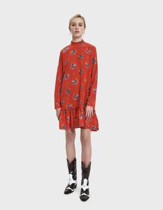 Ganni Kochhar Silk Mini Dress