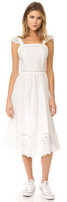 J.O.A. Embroidered Eyelet Dress $105 thestylecure.com