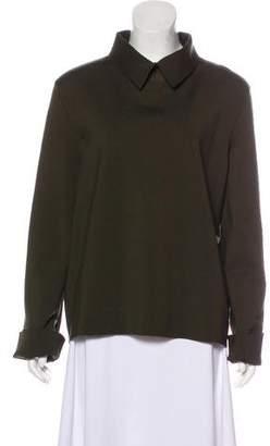Celine Wool-Blend Knit Sweater