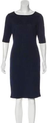 Tahari Arthur S. Levine Jacquard Midi Dress