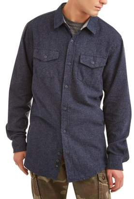 SWISS CROSS Swiss Cross Roadblock Men'S Long Sleeve Yarn Dyed Plaid Woven Shirt Shirt