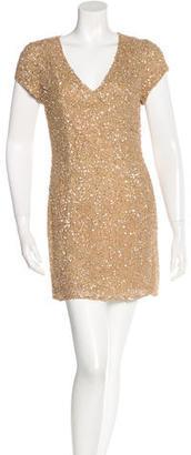 Parker Sequined Mini Dress w/ Tags $145 thestylecure.com