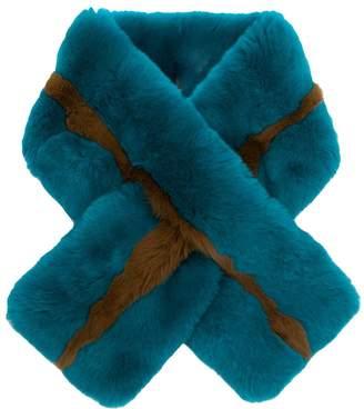 P.A.R.O.S.H. rabbit fur collar