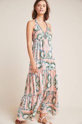 Nicole Miller Moroccan Print Maxi Dress