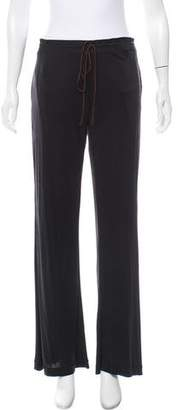 Sophie Theallet Mid-Rise Lightweight Knit Pants