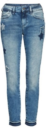 Women's Mavi Jeans Adriana Super Skinny Ankle Jeans $118 thestylecure.com