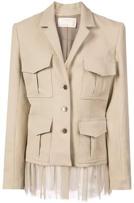 Nicole Miller safari button jacket