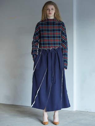 Akane Utsunomiya (アカネ ウツノミヤ) - アカネウツノミヤ カットオフヘムロングスカート