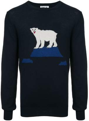 Band Of Outsiders bear knitted sweater