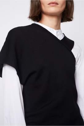 Dagmar Cosapa Merino Wool Top Black