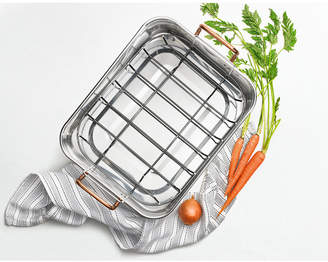 Martha Stewart Collection Stainless Steel Roaster, Created for Macy's