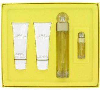 Perry Ellis 360 Gift Set for Women (3.4 oz EDT Spray + 3 oz Shower Gel + 3 oz Body Lotion + .25 oz Mini EDT Spray) $90 thestylecure.com
