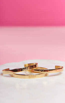 Show Me Your Mumu Barbie Loves Mumu Bangle Set ~ Gold