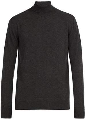 Privee Salle Salle Arvid Cashmere Roll Neck Sweater - Mens - Grey