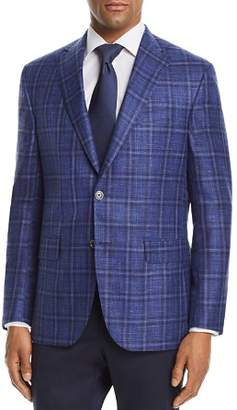 Jack Victor Plaid with Windowpane Classic Fit Sport Coat