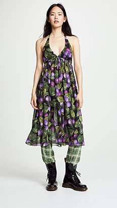 Marc Jacobs Redux Grunge Halter Dress