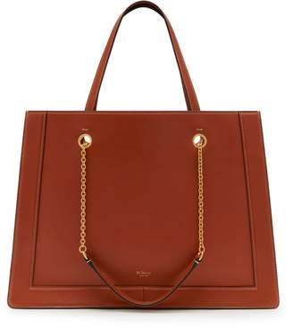 Mulberry Small Vale Tote Red Clay Silky Calf