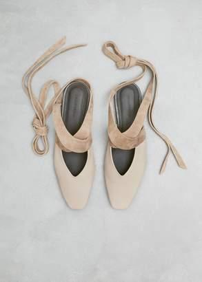 J.W.Anderson Open Flat Ballerina