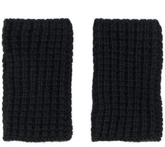 Barena knitted non-finger gloves
