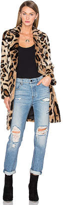 House Of Harlow x REVOLVE Genn Faux Fur Coat