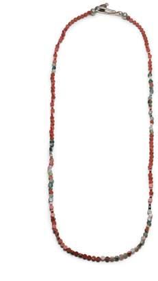 George Frost Morse Code Jasper Mix Necklace - Love