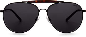 Ralph Lauren Classic Metal Pilot Sunglasses