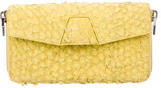 Alexander WangAlexander Wang Embossed Leather Wallet
