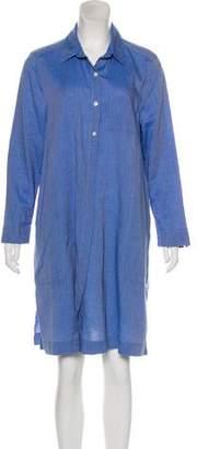 Steven Alan Long Sleeve Knee-Length Dress