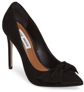 Women's Steve Madden Token Pointy Toe Pump $109.95 thestylecure.com