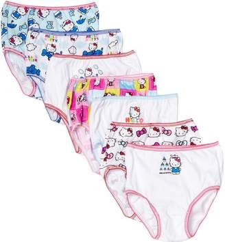 Hello Kitty Handcraft Little Girls' Underwear (Pack of 7)